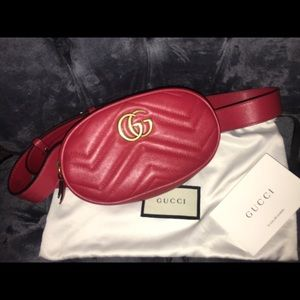 Gucci Marmont Belt Bag